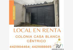 Foto de local en renta en lazaro cardenas , casa blanca, querétaro, querétaro, 0 No. 01