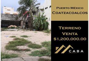 Foto de terreno habitacional en venta en lázaro cárdenas lote 11, puerto méxico, coatzacoalcos, veracruz de ignacio de la llave, 15011526 No. 01