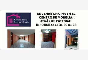 Foto de oficina en venta en leona vicario 62, morelia centro, morelia, michoacán de ocampo, 0 No. 01