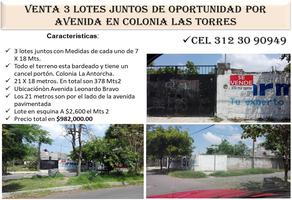 Foto de terreno habitacional en venta en leonardo bravo , colima centro, colima, colima, 0 No. 01