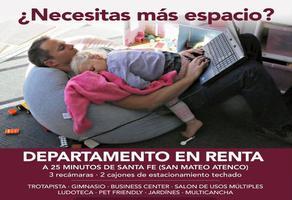 Foto de departamento en renta en lerma poniente 1000, magdalena, metepec, méxico, 0 No. 01