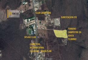 Foto de rancho en venta en libramiento a mazatlan , la costera, culiacán, sinaloa, 12254947 No. 01