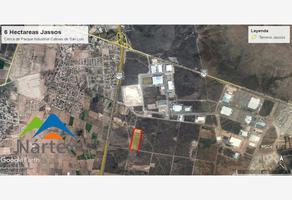 Foto de terreno industrial en venta en libramiento oriente , san nicolás de los jassos, san luis potosí, san luis potosí, 6275485 No. 01