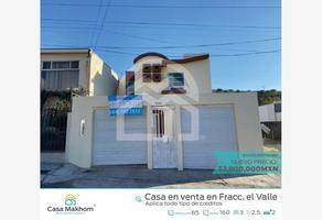 Foto de casa en venta en loma del valle 15541, el valle, tijuana, baja california, 0 No. 01