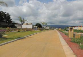 Foto de terreno habitacional en venta en lomas de ahuatlán, cuernavaca , lomas de ahuatlán, cuernavaca, morelos, 16801099 No. 01