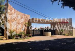Foto de terreno habitacional en venta en  , lomas de ahuatlán, cuernavaca, morelos, 9525059 No. 01