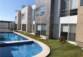 Foto de casa en condominio en venta en  , lomas de guadalupe, temixco, morelos, 8851169 No. 01
