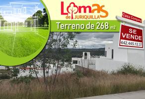 Foto de terreno habitacional en venta en lomas de juriquilla , loma juriquilla, querétaro, querétaro, 14366237 No. 01