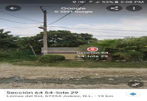 Foto de terreno habitacional en venta en  , lomas del sol, juárez, nuevo león, 0 No. 01