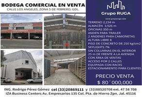 Foto de bodega en venta en los angeles , las conchas, guadalajara, jalisco, 15497557 No. 01