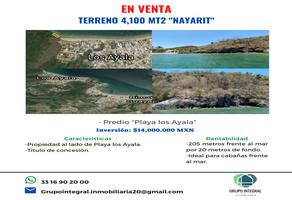 Foto de terreno habitacional en venta en  , los ayala, compostela, nayarit, 19065693 No. 01