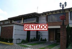 Foto de casa en renta en  , los cedros, metepec, méxico, 17560987 No. 01