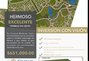 Foto de terreno habitacional en venta en  , los gavilanes, león, guanajuato, 12534051 No. 01