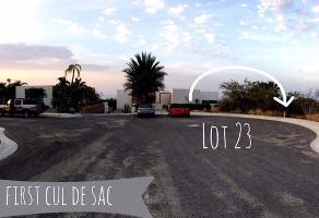 Foto de terreno habitacional en venta en lot 23 cresta del mar , lomas del tule, los cabos, baja california sur, 5156344 No. 01