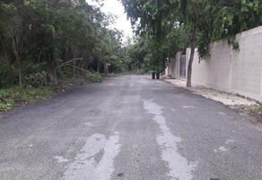 Foto de terreno habitacional en venta en lote 001-1. manzana 339. calle cipreses entre calle palmeras y 53 sur. , el tigrillo, solidaridad, quintana roo, 14529369 No. 01