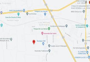 Foto de terreno habitacional en venta en lote 6 manzana 50 zona 6 poblado josefa vergara (antes saldarriaga) , el marqués, querétaro, querétaro, 0 No. 01