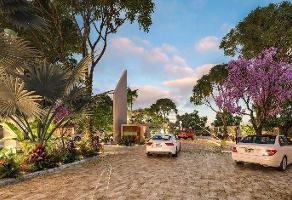 Foto de terreno habitacional en venta en lote en venta frente amenidades de 634m2 en privada blanca kikteil mérida , merida centro, mérida, yucatán, 0 No. 01