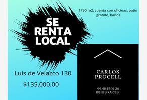 Foto de local en renta en luis de velazco 130, avenida, san luis potosí, san luis potosí, 17772303 No. 01