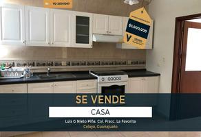 Foto de casa en venta en luis g nieto piña , la favorita, celaya, guanajuato, 0 No. 01