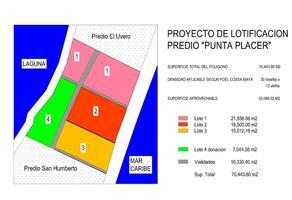 Foto de terreno habitacional en venta en  , mahahual, othón p. blanco, quintana roo, 10658267 No. 01
