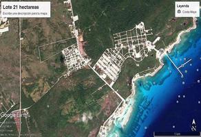 Foto de terreno habitacional en venta en  , mahahual, othón p. blanco, quintana roo, 6751596 No. 01