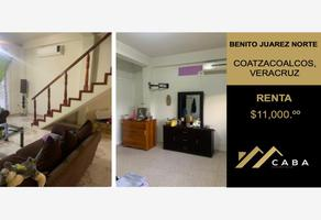 Foto de casa en renta en malpica , benito juárez norte, coatzacoalcos, veracruz de ignacio de la llave, 0 No. 01