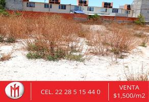 Foto de terreno habitacional en venta en manantiales de tehuacán 1, el riego, tehuacán, puebla, 0 No. 01