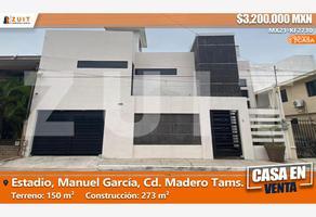 Foto de casa en venta en manuel garcía 300-b, estadio, ciudad madero, tamaulipas, 0 No. 01