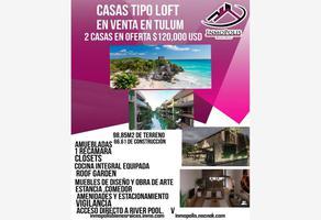 Foto de casa en venta en manzana 207 207, region 15 kukulcan, tulum, quintana roo, 0 No. 01