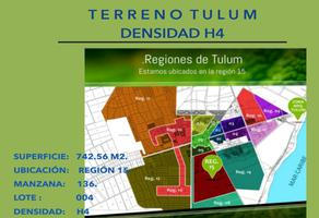 Foto de terreno habitacional en venta en manzana:136, entre las calles 24 sur/22 sur/19 poniente , tulum centro, tulum, quintana roo, 0 No. 01