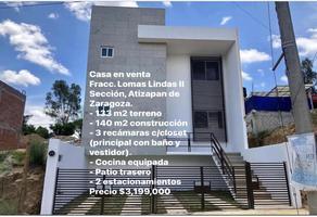 Foto de casa en venta en mar timor 3, lomas lindas ii sección, atizapán de zaragoza, méxico, 0 No. 01