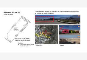 Foto de terreno habitacional en venta en  , maría de león, saltillo, coahuila de zaragoza, 15338654 No. 01