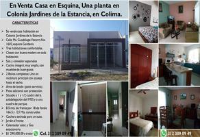 Foto de casa en venta en maria guadalupe vizcarra 1602, jardines de la estancia, colima, colima, 0 No. 01