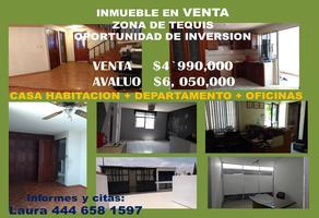 Foto de casa en venta en mariano otero 415, benigno arriaga, san luis potosí, san luis potosí, 18709026 No. 01