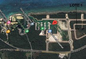 Foto de terreno habitacional en venta en marina cozumel lote , cozumel centro, cozumel, quintana roo, 12844326 No. 01
