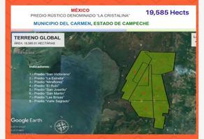 Foto de terreno habitacional en venta en  , marina del rey, carmen, campeche, 16575178 No. 01
