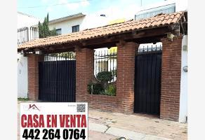 Foto de casa en venta en marqués de la laguna , lomas del marqués 1 y 2 etapa, querétaro, querétaro, 0 No. 01