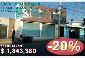 Foto de casa en venta en martires del 7 de enero 15, centro (tepatlaxco), san martín texmelucan, puebla, 18192816 No. 01