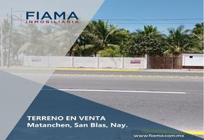 Foto de terreno habitacional en venta en  , matanchen, san blas, nayarit, 14461052 No. 01