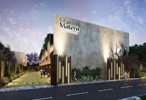 Foto de terreno habitacional en venta en matera , montebello, mérida, yucatán, 13928230 No. 01