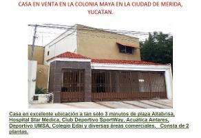 Foto de casa en venta en  , maya, mérida, yucatán, 13644344 No. 01