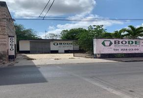 Foto de nave industrial en venta en  , merida centro, mérida, yucatán, 16447247 No. 01
