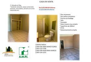 Foto de casa en venta en  , mesa de otay, tijuana, baja california, 0 No. 01
