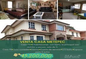 Foto de casa en venta en miguel hidalgo , santa maría magdalena ocotitlán, metepec, méxico, 0 No. 01