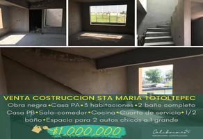 Foto de casa en venta en miguel hidalgo , santa maría totoltepec, toluca, méxico, 0 No. 01