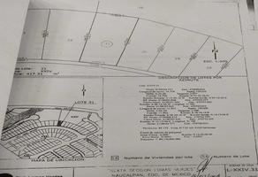 Foto de terreno habitacional en venta en miguel miramon 91, lomas verdes 6a sección, naucalpan de juárez, méxico, 0 No. 01