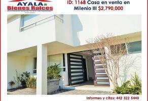 Foto de casa en venta en  , milenio iii fase b sección 11, querétaro, querétaro, 0 No. 01
