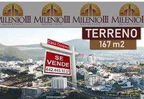 Foto de terreno habitacional en venta en milenio iii , milenio iii fase a, querétaro, querétaro, 14368788 No. 01