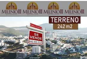 Foto de terreno comercial en venta en milenio iii , milenio iii fase a, querétaro, querétaro, 14506470 No. 01