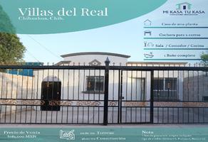 Foto de casa en venta en mina candelaria 1501, villa del real i, ii, iii, iv y v, chihuahua, chihuahua, 0 No. 01